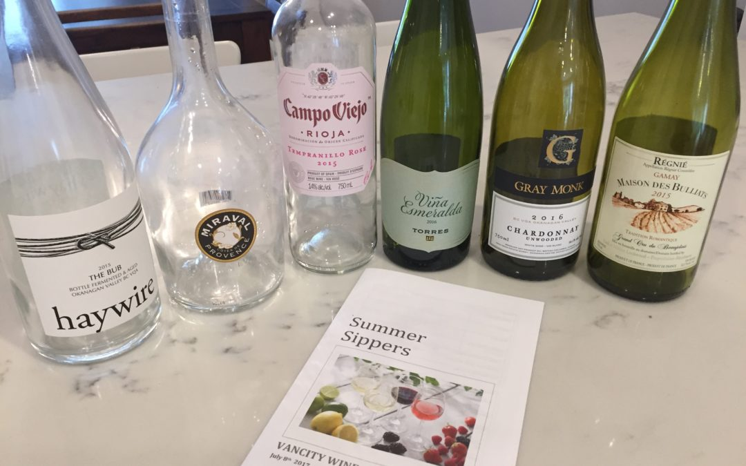 Summer Sippers: July 2017
