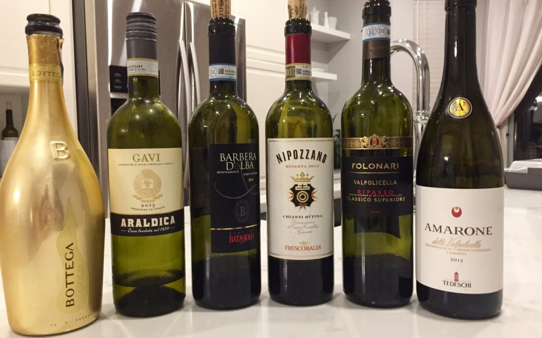 Exploring Italy in 6 Wines